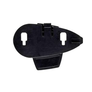Interphone Cellularline 5 Adhesive Supports For Interphone Xt/mc Black One Size