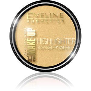 Eveline Art Make-Up Highlighter Pressed Powder Puder 55 Golden 12G