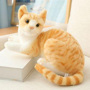 Simulation Katze Plüschtiere Kinder Geburtstagsfeier Geschenke Katze Puppe Katzen Plüsch Spielzeug