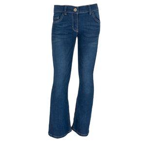 Mädchen Trendjeans Jeans Hose - Blau Flared, 158/164 (Farbe: Blau Flared, Größe: 158/164)