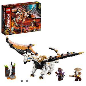 LEGO 71718 NINJAGO WUS gefährlicher Drache Spielzeug mit Master Wu & Gleck Minifiguren