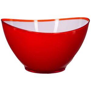 Schüssel rote Welle 23cm - Salatschüssel