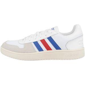 Adidas Hoops 2.0 Ftwwht/Croyal/Scarle 46