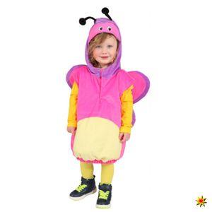 Kinderkostüm Butterfly, rosa Schmetterling