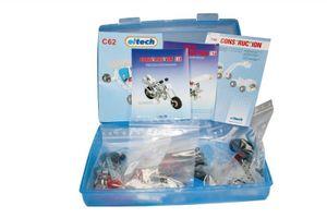 Metallbaukasten, stabile Kunststoffbox C160