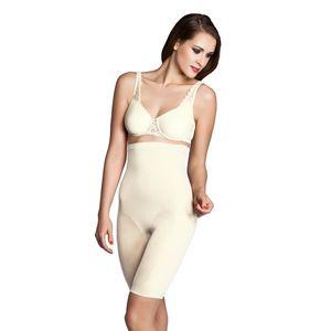 Miss Perfect Shapewear Damen - Miederhose Damen (S-XXL) Body Shaper Damen Bauchweg Unterhose Damen Bodyshaper für Frauen - nahtlos & formend, Farbe:Champagner (CH), Größe:2XL