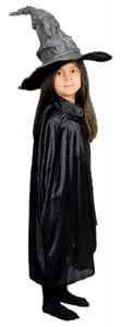 K31272508-50-A schwarz Kinder Hexen Umhang Cape Länge ca.50 cm