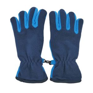 Winterhandschuhe Kinder Winddichte Thermische Skihandschuhe Sporthandschuhe für Farbe Blau M