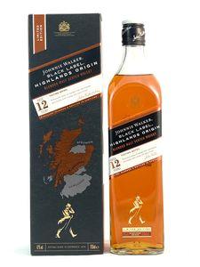 Johnnie Walker Black Label 12 Jahre Highlands Origin Limited Edition Whisky 0,7l, alc. 42 Vol.-%