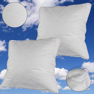 Schlafkissen Microfaser 80 x 80 cm 2 Stück