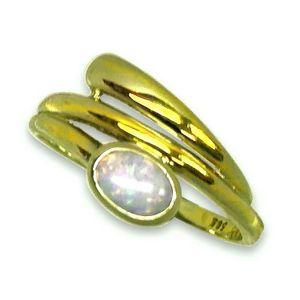 Ring 59 - Gelbgold 585 - Opal - Unikat