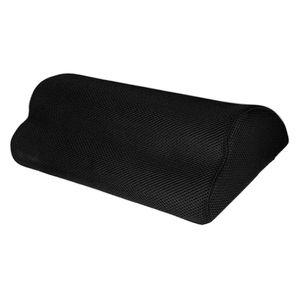 Fuß Rest Unter Schreibtisch, Weiche Schaum Fuß Kissen Unter Schreibtisch Fuß Hocker Kissen für Büro und Home Zubehör, nicht-Slip Oberfläche (Schwarz)