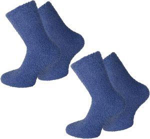 normani 2 Paar Kuschel-Socken für Damen und Herren