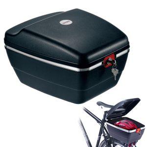 Westmark Fahrradkoffer für alle Gepäckträger, inkl. Befestigungsmaterialien, Diebstahlsicher, 14 Liter, Touring Tresor, 5430GE6S