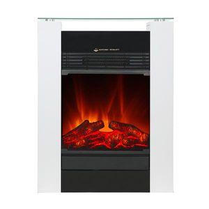 El Fuego Elektrokamin / Dekokamin Tessin 1800W weiß