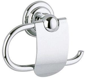 Keuco Toilettenpapierhalter ASTOR mit Deckel verchromt