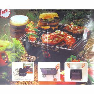Klappgrill / Einweggrill / Faltgrill / Mini-BBQ-Grill