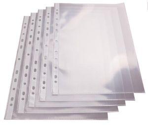 proOFFICE Prospekthülle DIN A4 PP Folie glasklar 0,05 mm 100 Hüllen