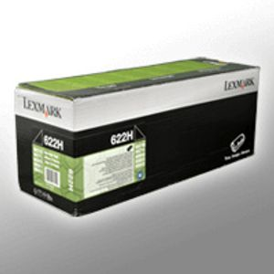 Lexmark 622H - Hohe Ergiebigkeit - Schwarz - Original - Tonerpatrone LCCP, LRP - für Lexmark MX710, MX711, MX810, MX811, MX812