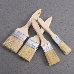 5PCS Pinsel mit Holzgriff für Wand- und Möbellack