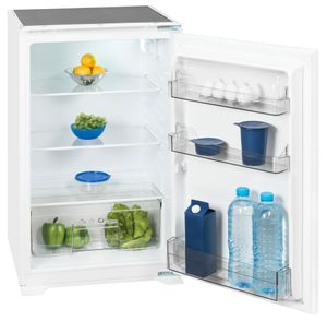 Exquisit Einbau-Kühlschrank EKS 131-4.2 RVA+ | 130L Fassungsvermögen | Energieeffizenzklasse A+ | Weiß