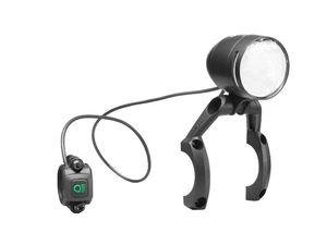 Busch & Müller Led-Scheinwerfer Lumotec Iq-Xs High Beam Abblendlicht: 100 Lux (5 Watt) Fernlicht: 150 Lux (10 Watt)
