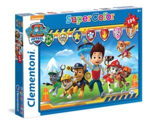 Clementoni puzzle Paw Patrol 104 Teile 48,5 x 33,5 cm