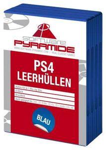 PS4-Leerhüllen 4er-Pack, blau - PS4