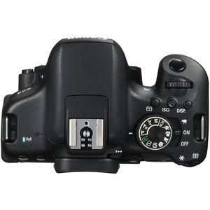 Canon EOS 750D, 24,2 MP, 6000 x 4000 Pixel, CMOS, Full HD, Touchscreen, Schwarz