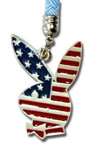 Playboy Handyanhänger Bunny American red