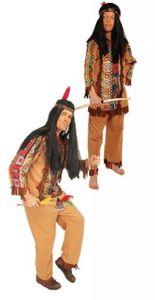K31250654-116-128 braun Kinder Jungen Indianer Kostüm Apachen Anzug Gr.116-128