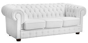 Max Winzer Bridgeport Sofa 3-Sitzer - Farbe: weiß - Maße: 200 cm x 98 cm x 76 cm; 2883-3100-2070150-F07