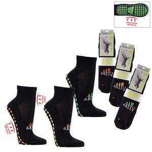2 Paar Sportsocken Sneaker mit ABS Socken Fit Sox Jump Socks Anti Rutsch Gr. 39/42