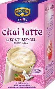 Krüger You Chai Latte Typ Kokos-Mandel Exotic India extra cremig | 10 Portionen