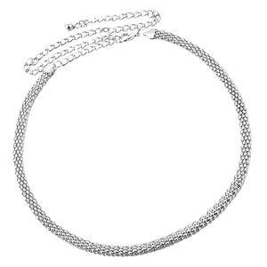 Strass Gürtel Hochzeit Kristall Hüftgürtel Taillengürtel Brautgürtel 115cm Silber