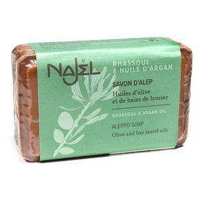Najel Aleppo Arganöl  Seife mit Lavaerde  im Doppelpack a 100 g