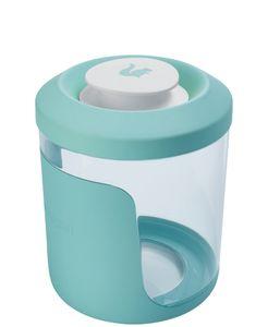 """keeeper Cerealienbox """"antonio"""" 1,25 Liter aquamarine / transparent"""