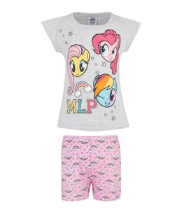 My Little Pony Shortama - Grijs - 128