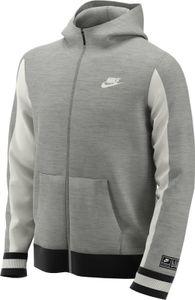 Nike B Nk Air Hoodie Fz Dk Grey Heather/Sail/Black S