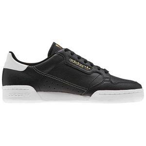 Adidas Originals Continental 80 Core Black / Core Black / Footwear White EU 39 1/3