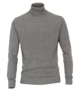 Redmond - Herren Rollkragen Pullover (501), Größe:S, Farbe:Grau(70)