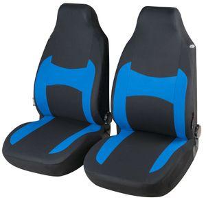 CarComfort Autositzbezug Fairmont für Vordersitze Highback blau, 13397