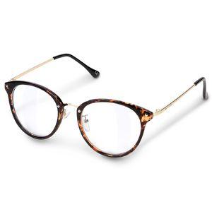 Retro Brille ohne Sehstärke