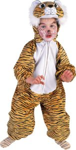 Kinder Kostüm Tiger zu Karneval Fasching Größe 104