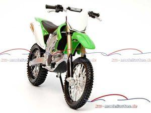 Modellmotorrad Kawasaki KX 450F, Modellmotorräder, Maßstab 1:12, Maisto