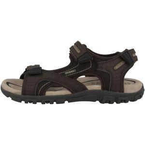 GEOX Herren Sandalen Braun Schuhe, Größe:43