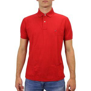 Tommy Hilfiger Poloshirt Herren Rot (MW0MW09731 611) Größe: S