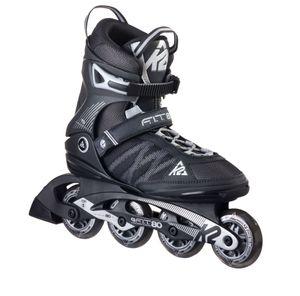 K2 Inline Skates F.I.T 80 M Schwarz - Silber für Herren, Größe: 44,5; 30A0003.1.1.110