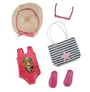 Käthe Kruse Beach-Party-Outfit Teenager-Puppen-Kleider-Set 5-teilig