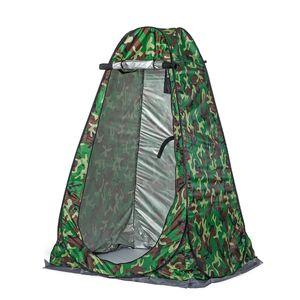SGODDE Camping Duschzelt Tragbar Umkleidezelt Toilettenzelt Draussen 120 * 120 * 190 cm Einschließlich Zeltpflock, Seil, Aufbewahrungstasche